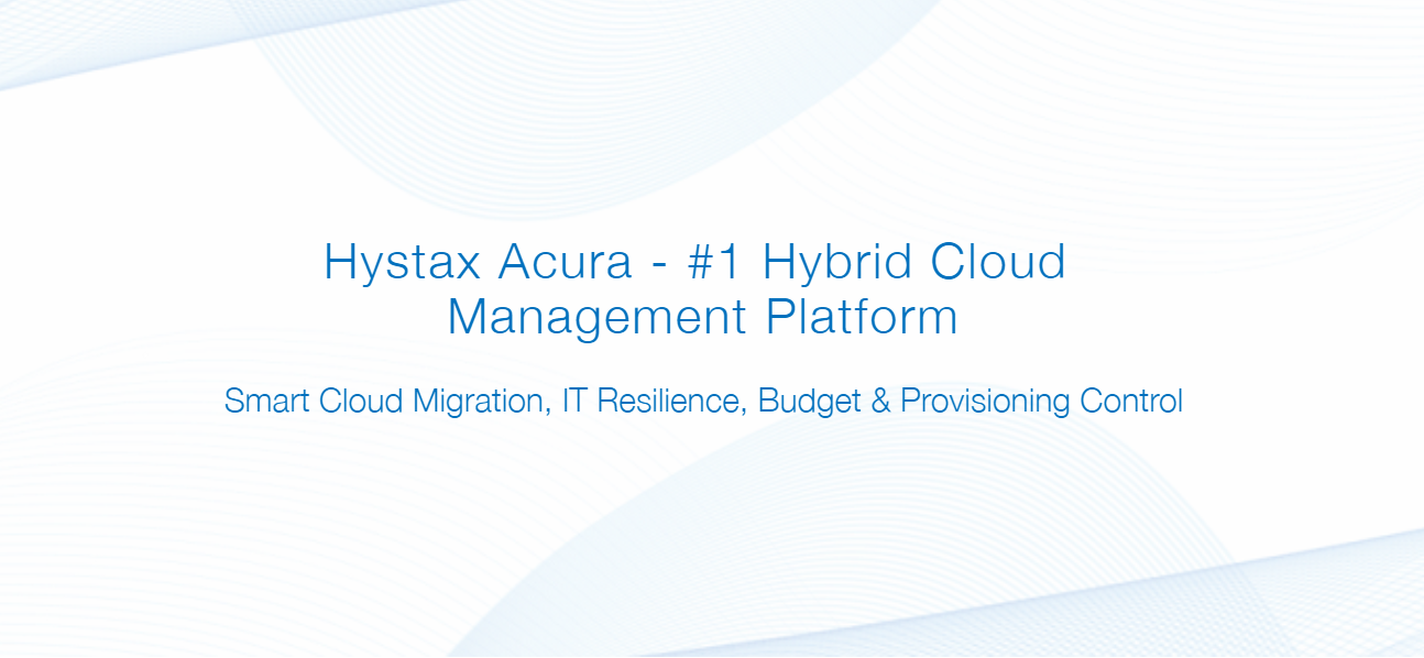 Live Cloud Migration, Disaster Recovery and Hybrid Cloud Management