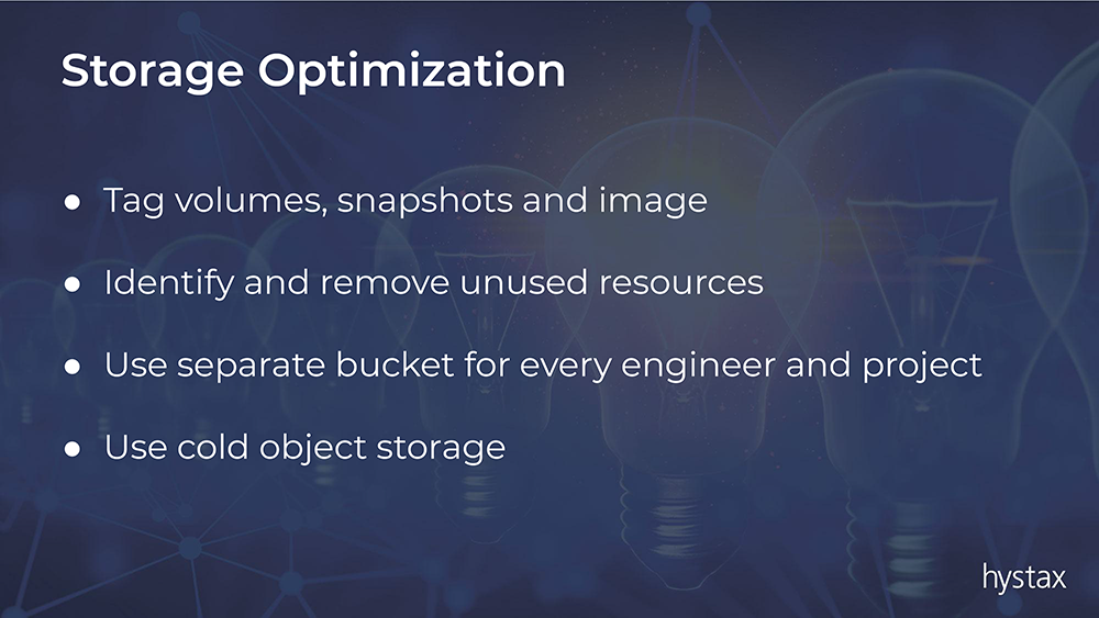 Storage Optimization