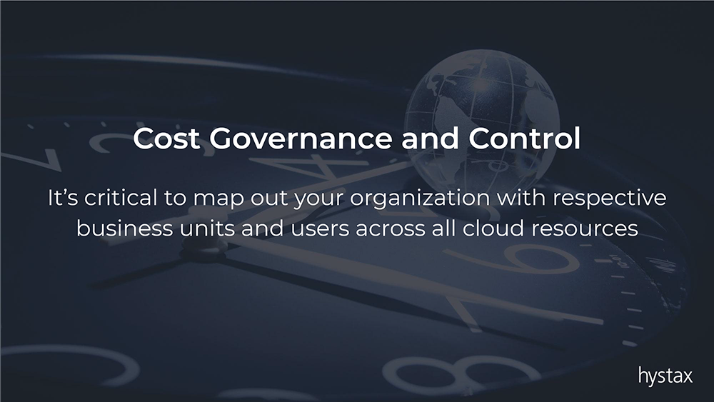 cloud cost governance and control