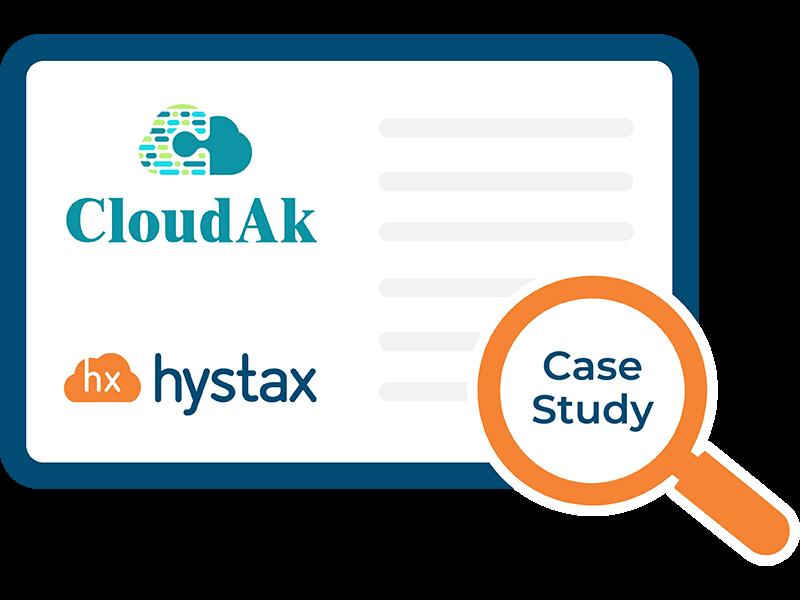 Hystax-CloudAk-Case-Study