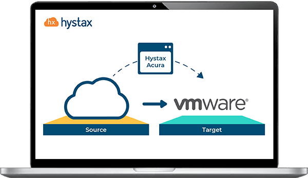 Cloud migration solution to VMware